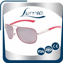 New Designer innovative silver aviator sunglasses