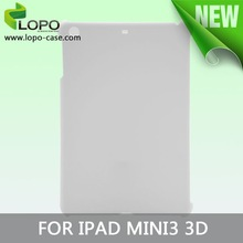 High Quality 3D Sublimation tablet cover case for ipad mini 3