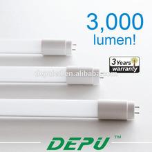 Hot sale! NO flicking smd2835 led tube lamp,18w 1200mm led tube light,CE RoHS Bivolt AC100-240Vtube8 led animal video tube tube8