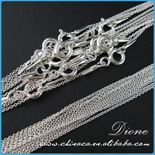 jewelry findings 316l stainless steel chain
