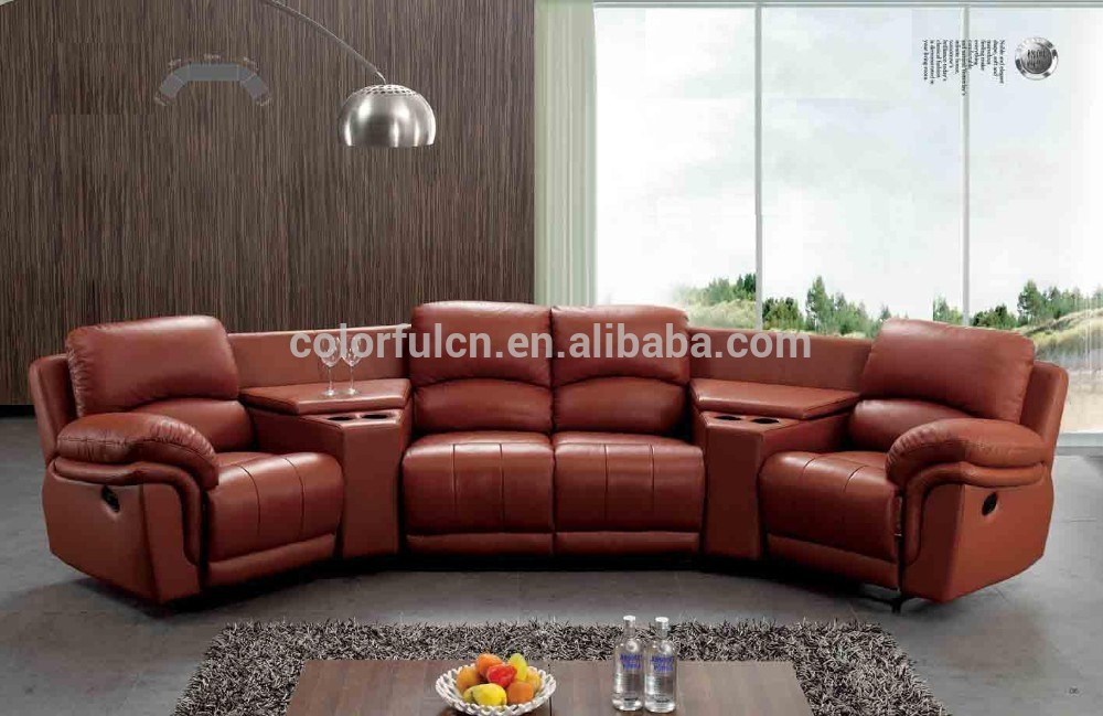 recliner sofa with coffee table for home solan hotel 4