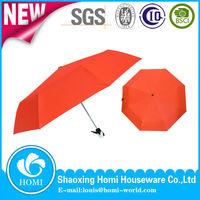 Portable Three Folding Color Changing UV Protection Auto Open&Close Umbrella