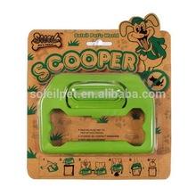 Pet Outdoor Product Plastic Hiking Pet Pooper Scooper