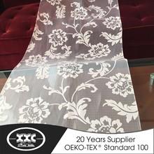2015 chinese high quality low price white curtain fabrics