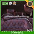 حار منتجات جديدة للحصول على مجموعة مفروشات 2015/ المفارش جاكار/ خياطة غطاء السرير الكبار