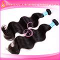 100% sin procesar de la onda del cuerpo de la virgen del pelo brasileño