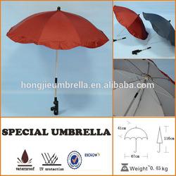 Motorcycle Umbrella 16' 6 ribs foldable bick umbrella