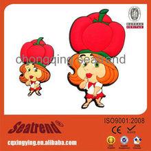 Cartoon Image Lovely Children's Toys Tourist Souvenir Touris Home Decoration Soft Pvc Fridge Magnet