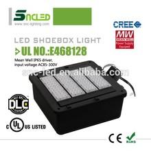 DLC UL approval led shoebox light outdoor led basketball/tennis/football court flood lights