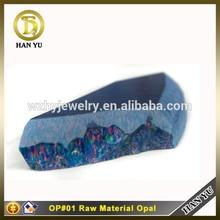 OP#01 Multi Teal Synthetic Opal Rough Stone Opal Price Per Gram