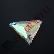 AB color glass beads crystal garment accessories decorative stones flat back rhinestone