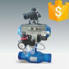 pneumatic fully welded ball valve