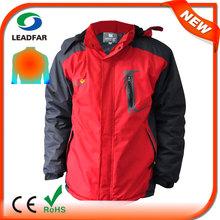 HJ08 7.4v Heated men's coats/jackets for winter hot sale china