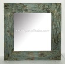 wooden mirror frame square mirror