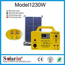 Energy saving high power cheap price poly 260 watt solar panel home lighting system