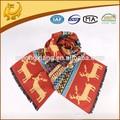 Linda del algodón del diseño de la bufanda para los niños