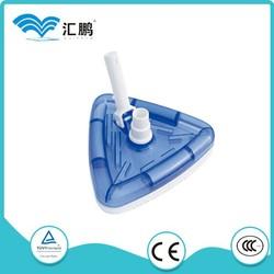 Swimming pool equipments accessaries triangular vacuum head