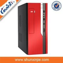 color optional pc case&small atx micro pc case&desktop cabinet pc case