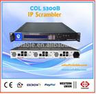 IP Scrambler Module, electronic scrambler support simulcrypt CAS ,Digital tv and radio station enquipment for sale COL5300B