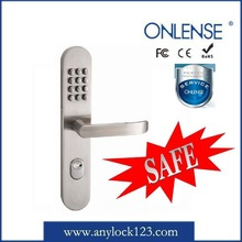 304 stainless steel safety handle lock with code combination from factory price