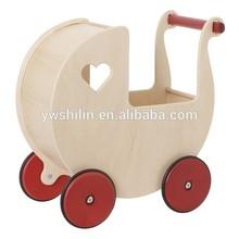 2015 new design toys wooden walker cart for kids