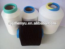 black single lycra spandex covered yarn for knitting