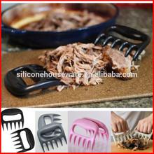 pata de oso de carne de la garra de manipuladores tenedores de trituración herramienta para tirar carnedecerdo tirado de carne de pollo y pavo conjunto de 2
