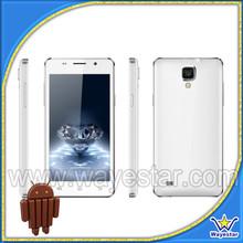 "China brand 5"" dual core 4gb ram cell phone"