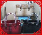 fashion genuine leather bags,high quality python leather, for leather bag