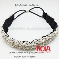 Cheap pretty handmade rhinestone crystal halloween headband