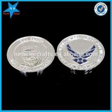 Fashion design silver coins for collection