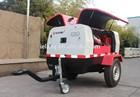 Electric air compressor, portable air compressor, mobile air compressor