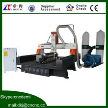 500mm Z axies height , Mach3 controller,5.5KW spindle,wood carving furniture 1325 ,1300*2500*500mm