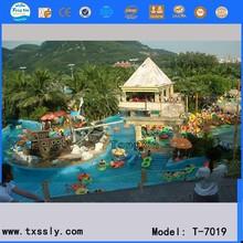 water park design, Artificial rafting river