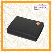 Top quality factory direct lady leather wallet purse