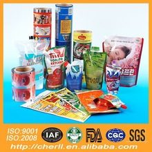 gravure printing and laminated plastic flexible packaging nut plastic film roll