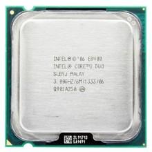Intel Processor Core 2 duo E8400 /6M Cache/ 3.0GHz/1333MHz FSB Socket 775 CPU