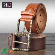 2015 fashion designer belt manufacturer full grain cowhide belt vs suspenders with individual design