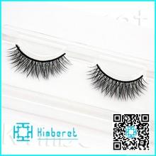 100% real mink materials for eyelash korea mink fur false strip eyelash