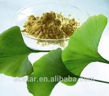 Ginkgo Biloba Extract EP Total Flavones 24% Lactones 6% HPLC Gingko Acid <5PPM