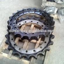 bulldozer chain sprocket , sprockets and chains sprocket for shantui dozer SD16 SD22 SD23 SD32