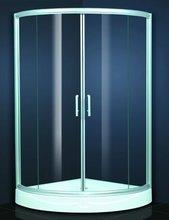 6-8mm Tempered Glass Bathroom Shower Cabin & Curved Glass Shower Enclosure