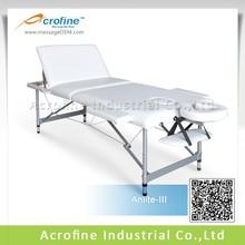 Acrofine aluminum massage table that export to Australia