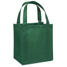 Nonwoven Shopping Bags Fashion Popular Reusable Custom Green Tote Bag
