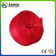 large diameter chian manufacturer low price lay flat pvc pipe 5 inch no odor layflat hose in taizhou