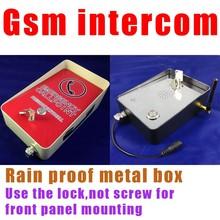 gsm intercom audio door intercom emergency intercom calling