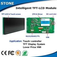 5 inch TFT LCD Module touch screen RS485 interface, work with Any MCU