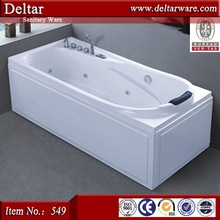 Top grade new products low price massage whirlpool spa tub for middle east people