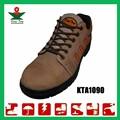 Gamuza de cuero a prueba de agua industrial antiestático compuesto de seguridad del dedo del pie zapatos