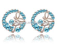 2015 New surgical steel ear piercing studs,ear piecing studs